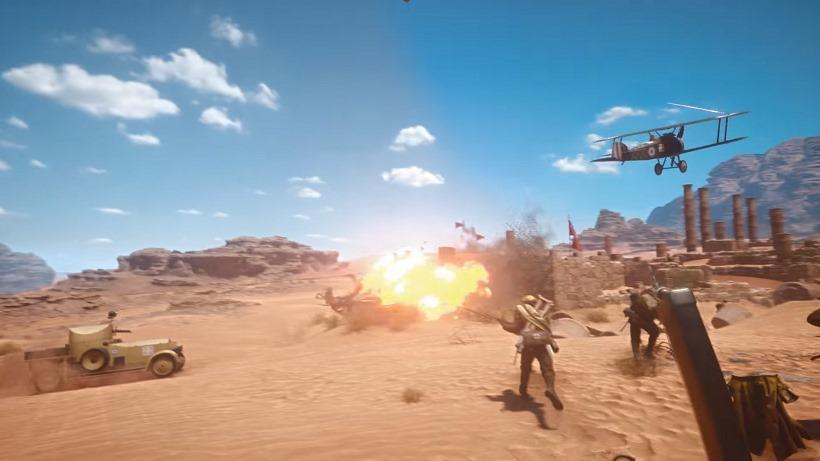 Battlefield 1 Gamescom trailer, beta dates 1
