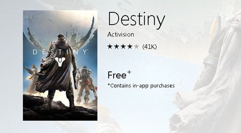 destiny free to play