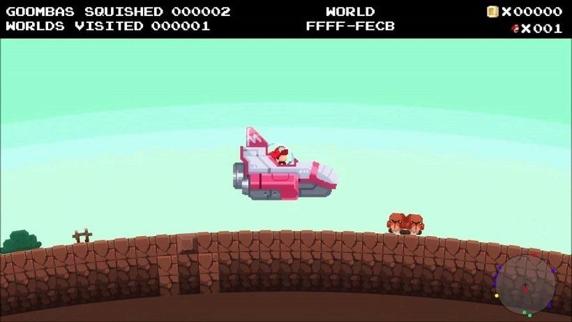 No Mario's Sky is a delightful LD Jam mash-up 3