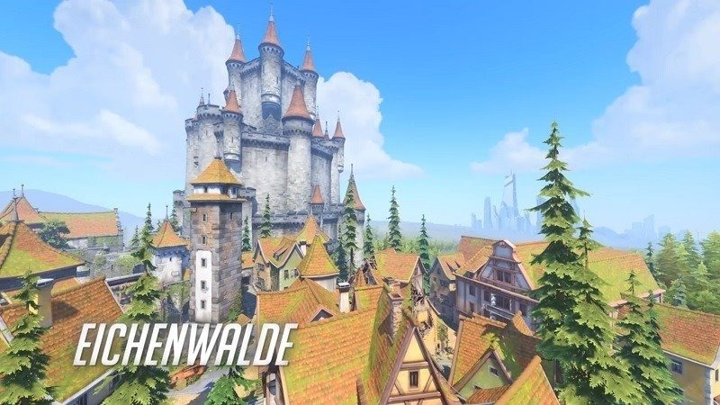 Overwatch's Eichenwalde is now playable on the PTR header