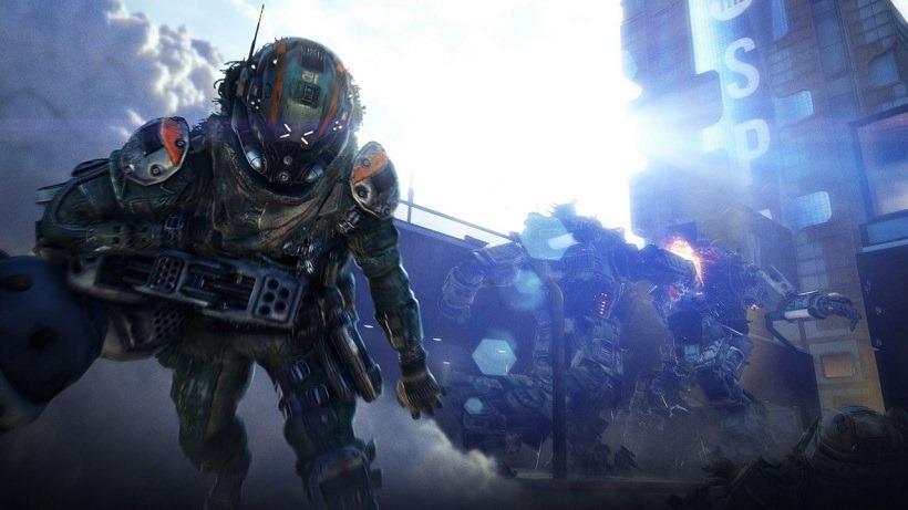 Titanfall 2 single-player footage