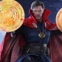 This Doctor Strange sixth-scale replica is ready to throw some magical metal horns