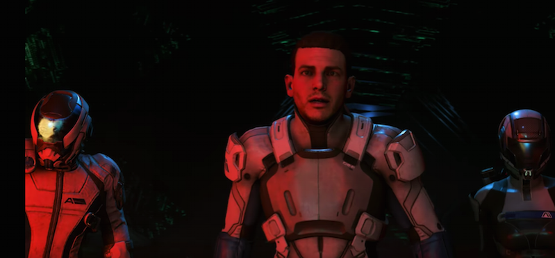 Mass Effect Andromeda male protag