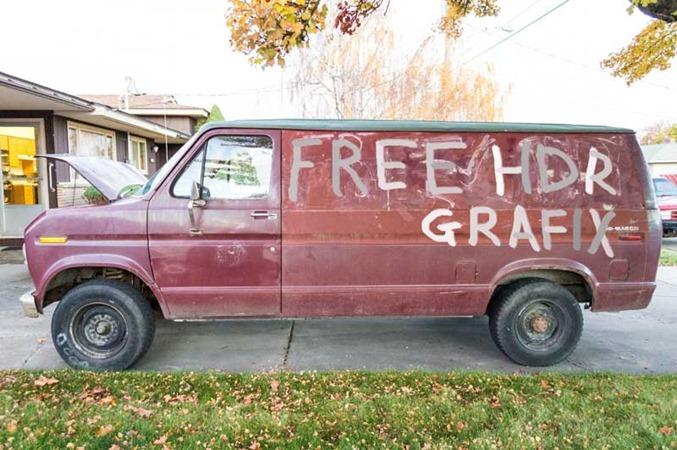 Darryn's van is for sale