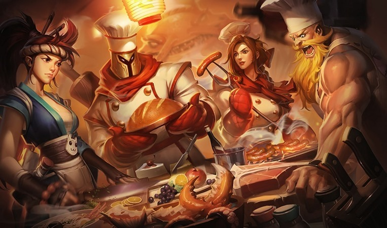 Patch 6.18 for League of Legends header
