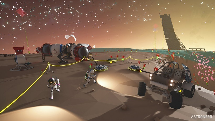 The Astroneer enters early access in December 2