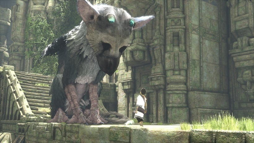 The last guardian gameplay footage 2