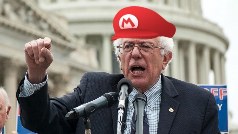Trumptendo Bernie Work Avoidance