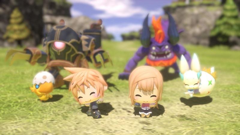 World of Final Fantasy header