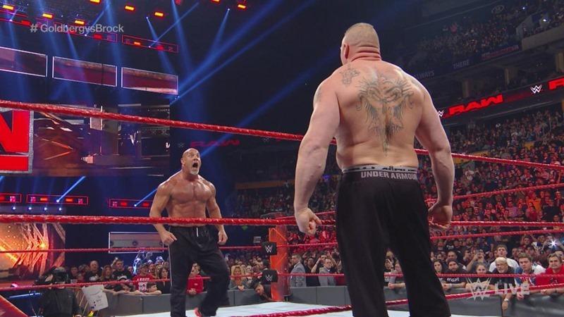 WWE RAW Results 14 November – Goldberg faced the Beast
