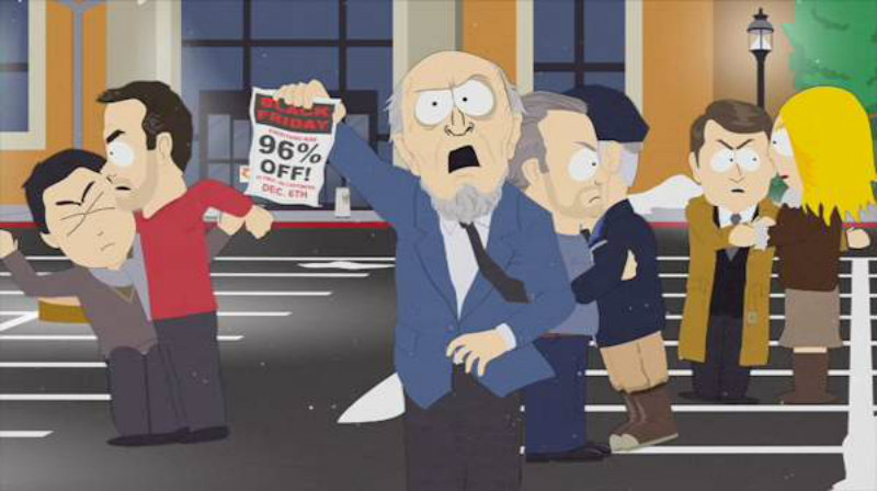 Black friday south park