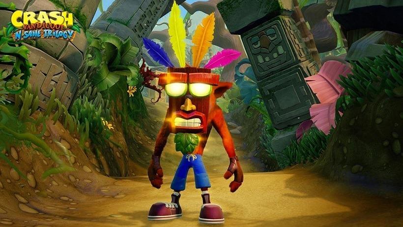 Crash remake comparison