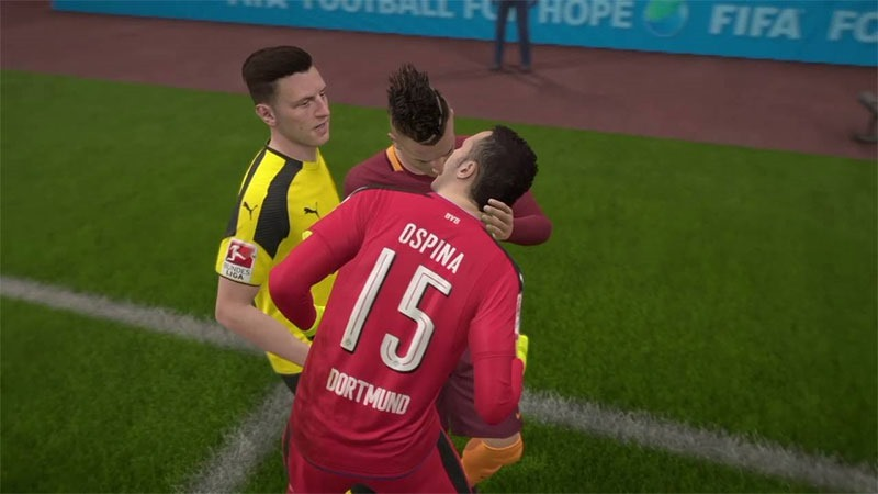 FifaKissing