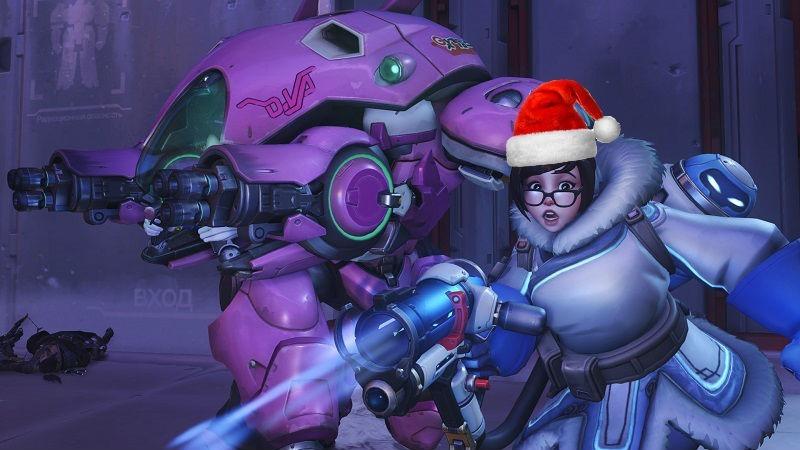 Overwatch Holiday Event header