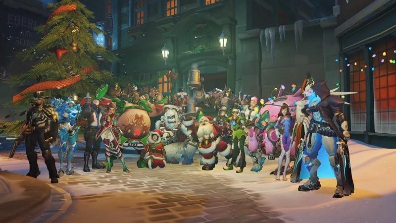 Overwatch Winter Wonderland holiday event
