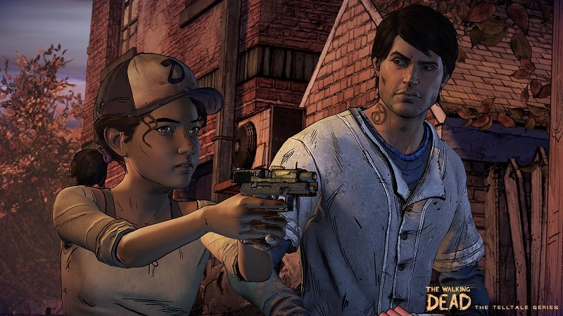 The Walking Dead The Telltale Series - A New Frontier header
