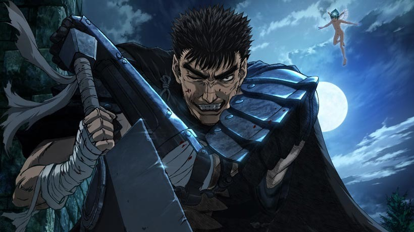 Here's your first look at the Berserk anime reboot