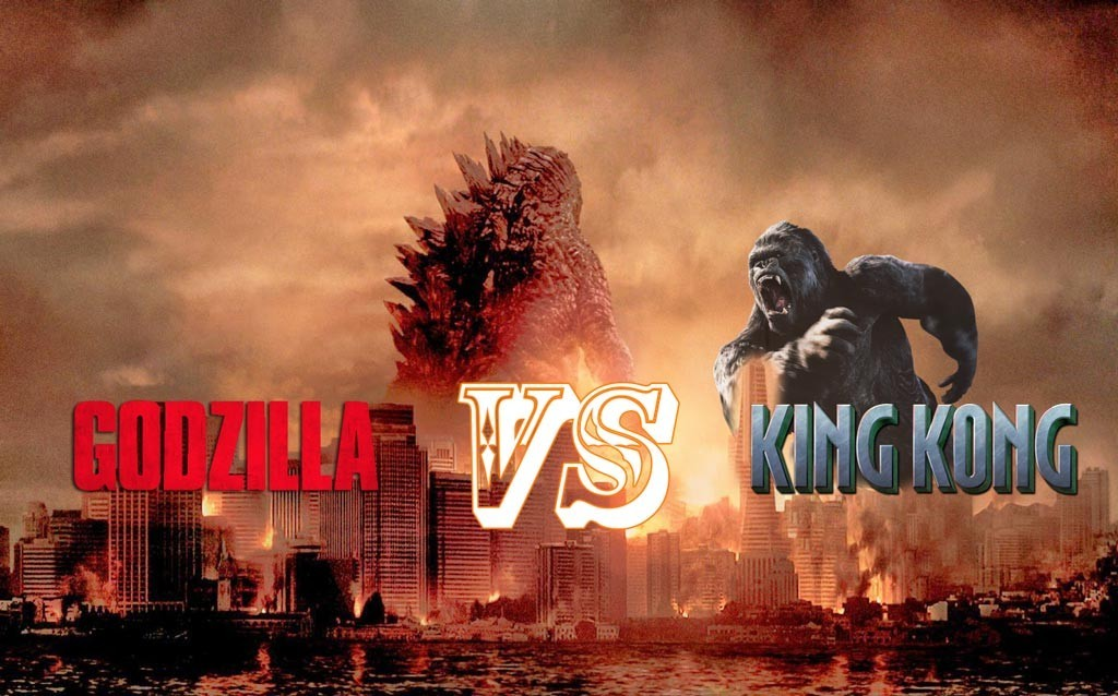 LET THEM FIGHT! King Kong and Godzilla will throw down ...