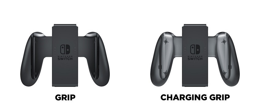 JoyCon Charging grip not included