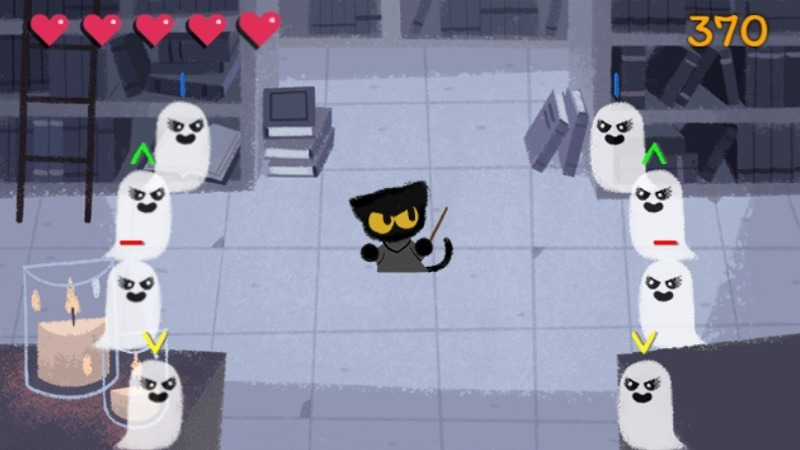 Cat Academy Game For Halloween Level