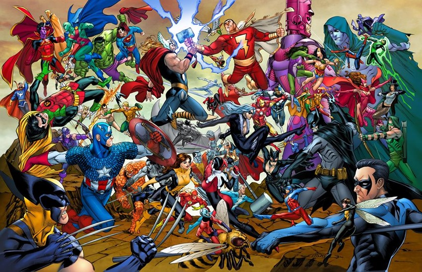 Marvel DC (2)