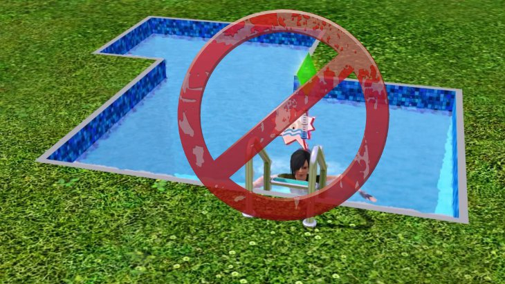 The sims 4 has no toddlers or pools at launch for Pool designs sims 4