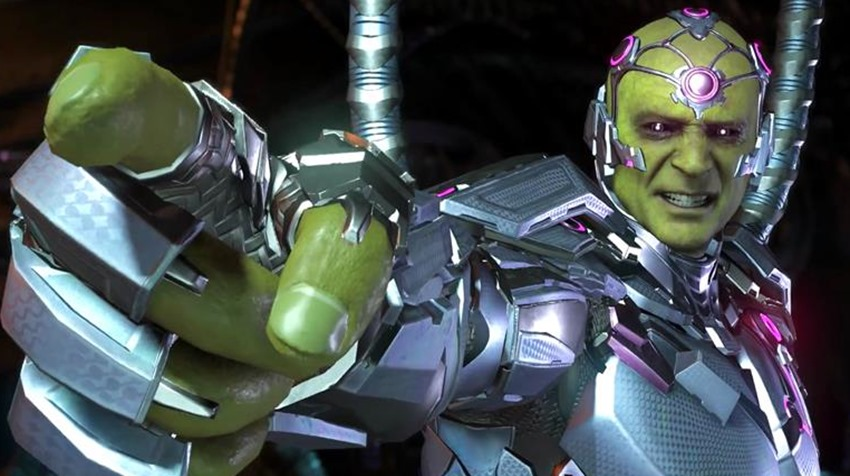 Brainiac invades in Injustice 2's