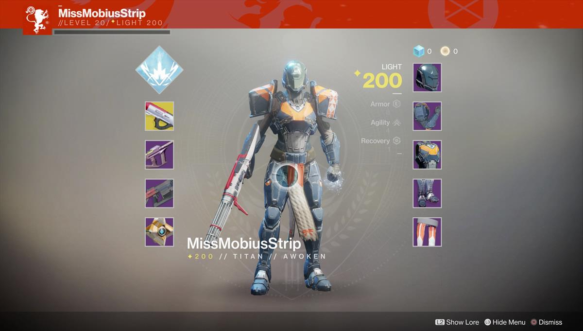 Destiny  Best Pvp Build For Hunters
