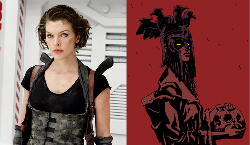 Milla Jovovich to play... Milla Jovovich Hellboy