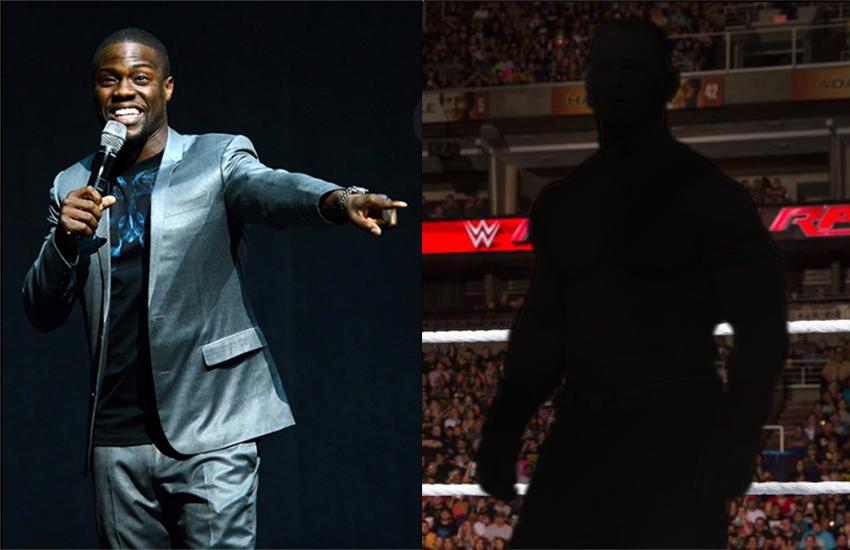 Kevin Hart and John Cena