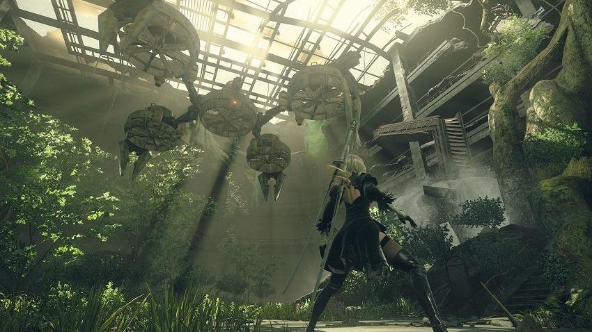 Nier Automata sved Platinum Games