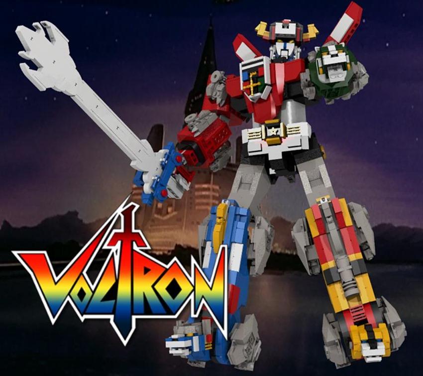 Voltron Lego (1)