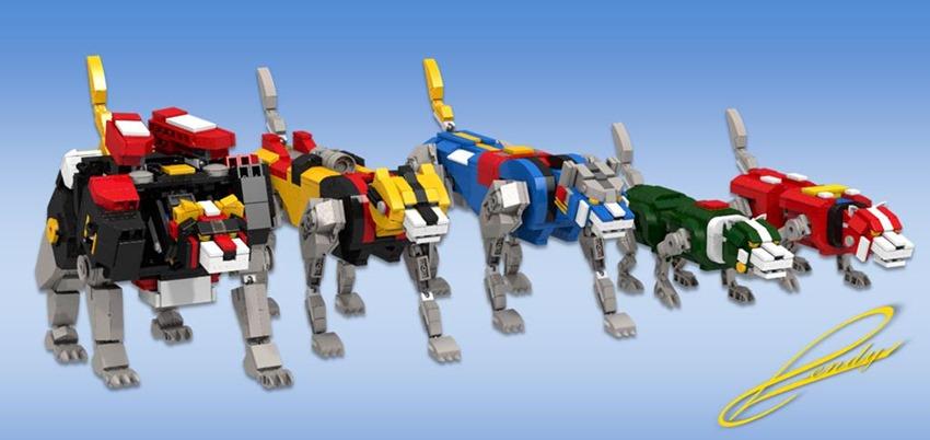 Voltron Lego (2)
