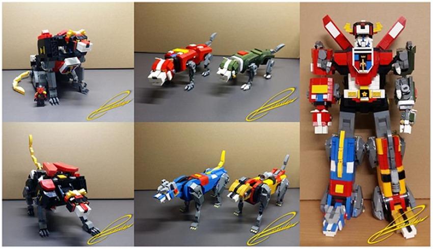 Voltron Lego (5)