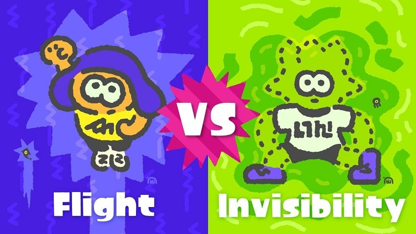 Invisibility loses to Flight in latest SplatFest 2