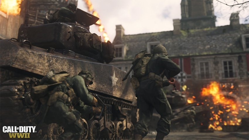 Iconic Call of Duty Carentan Map Joining WWII