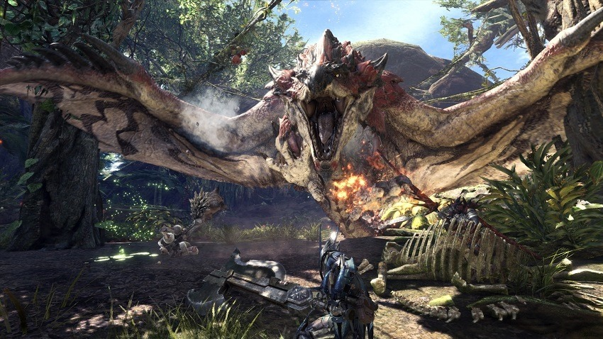 Monster Hunter World is delayed on PC for obvious reasons