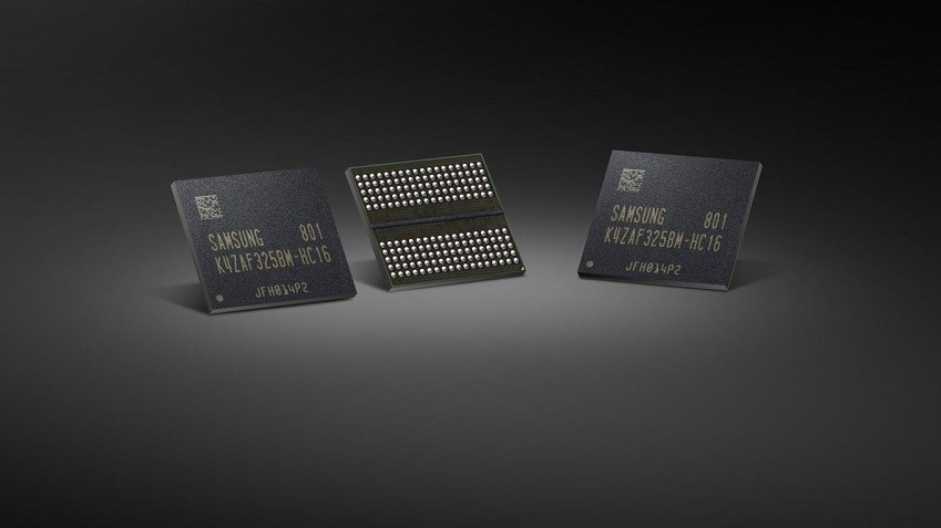 Samsung is mass producing GDDR6 chips