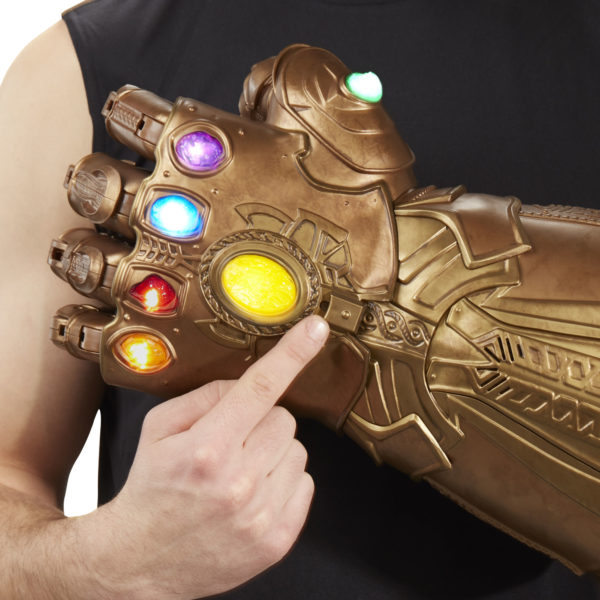 You Can Now Wear Your Own Life-Sized Infinity Gauntlet Thanks to Hasbro