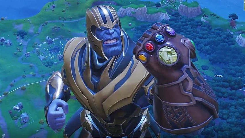 Days After Being Nerfed, Thanos in Fortnite is Getting an Attack Buff