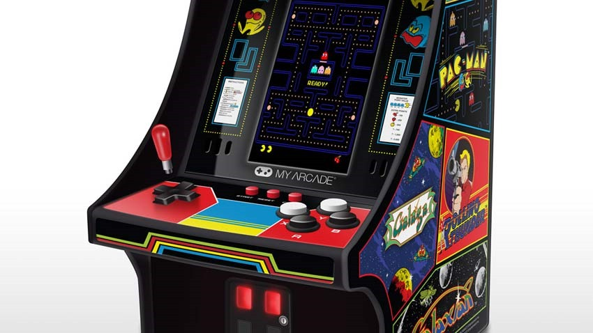 The Namco Museum Player is an entire gaming arcade that fits into your pocket