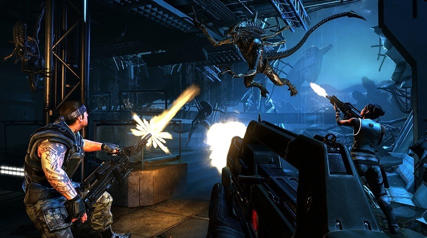 Aliens Colonial Marines had messed up AI thanks to a typo
