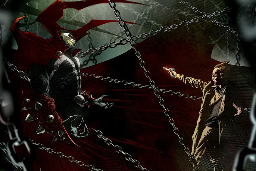 Jeremy Renner starred in Todd McFarlane's spawn reboot as