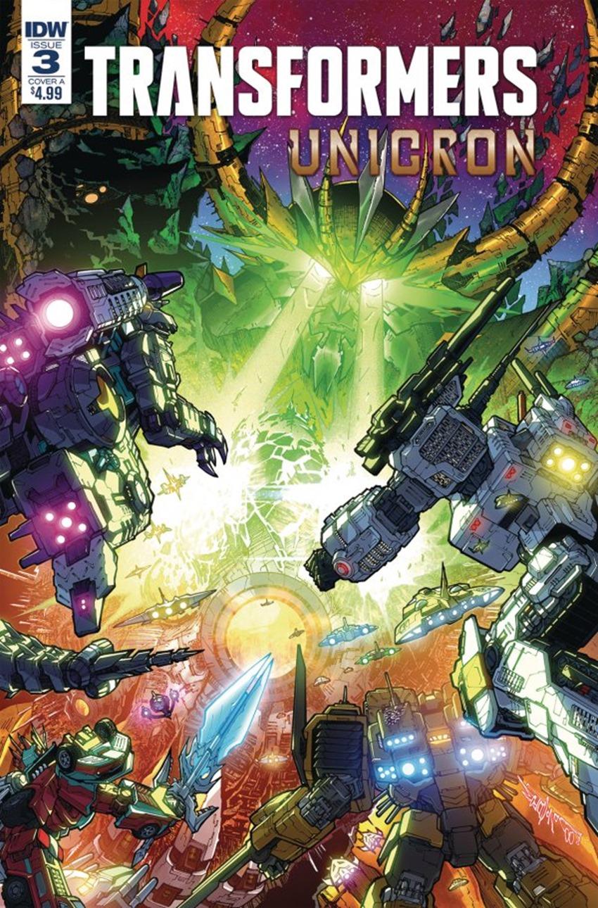 Transformers Unicron #3