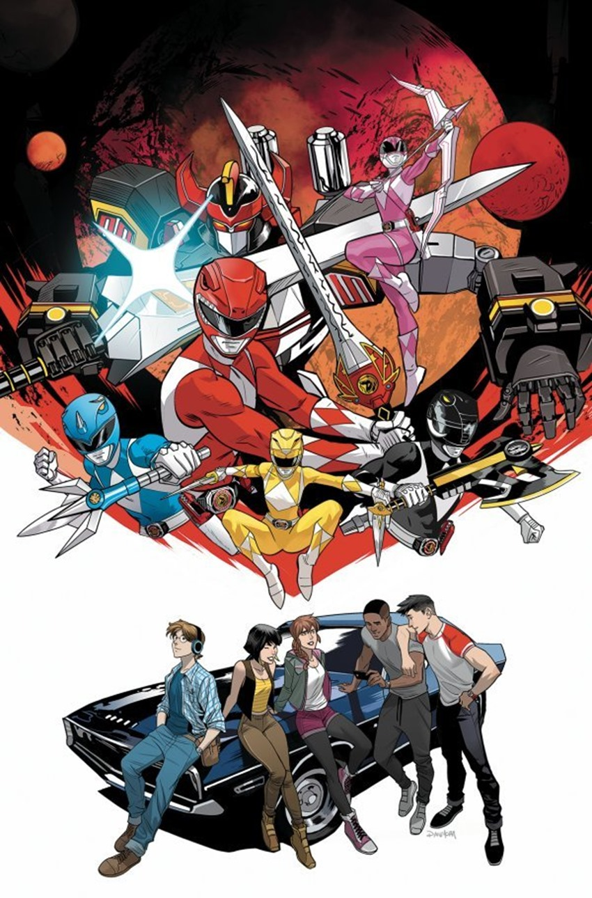 Go Go Power Rangers Back to School #1
