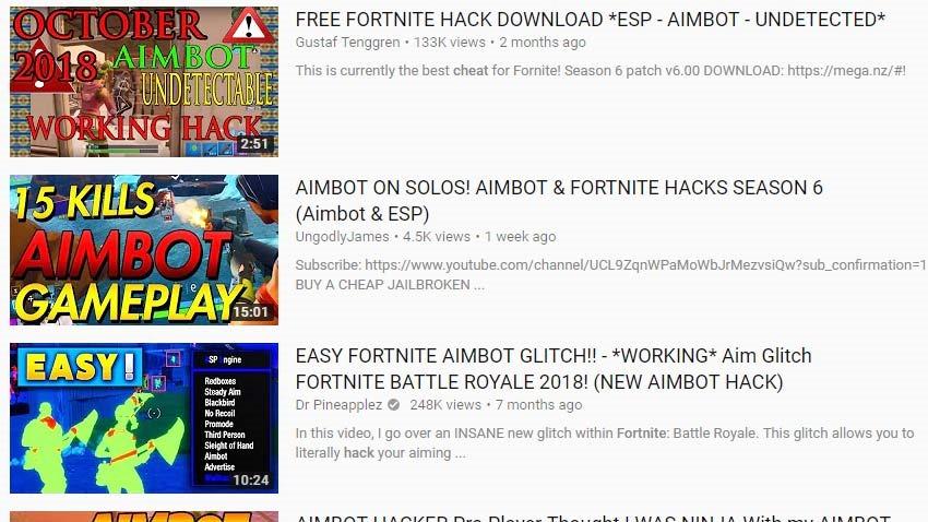 Fortnite-hacks